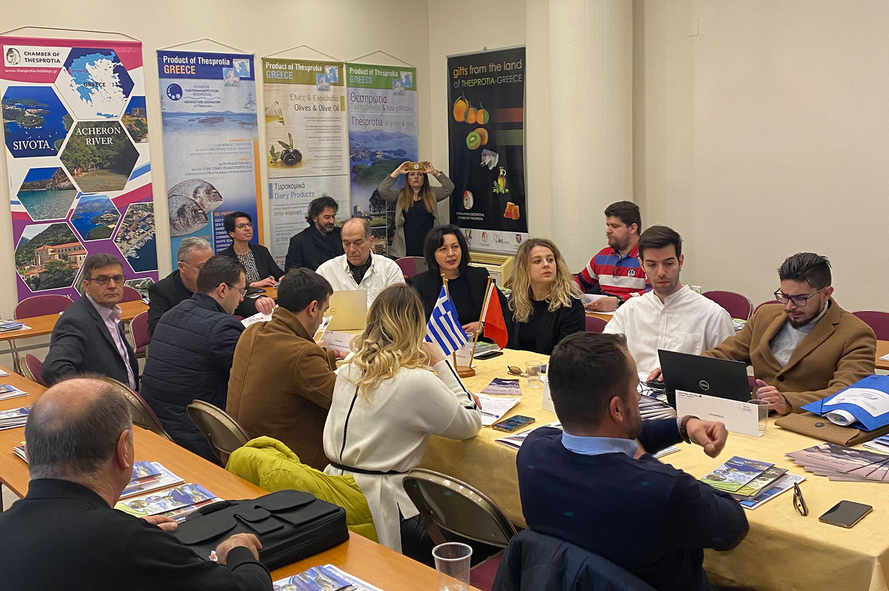 Dissemination event – round table discussions with previous tourism projects in the area